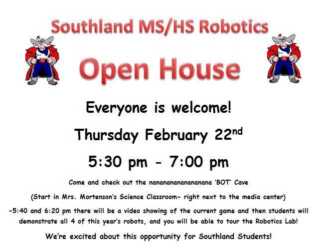 Robotice Open House