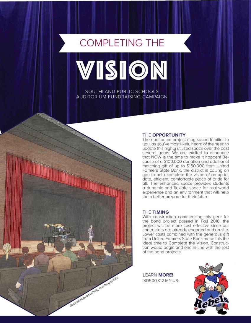 Auditorium Fundraising