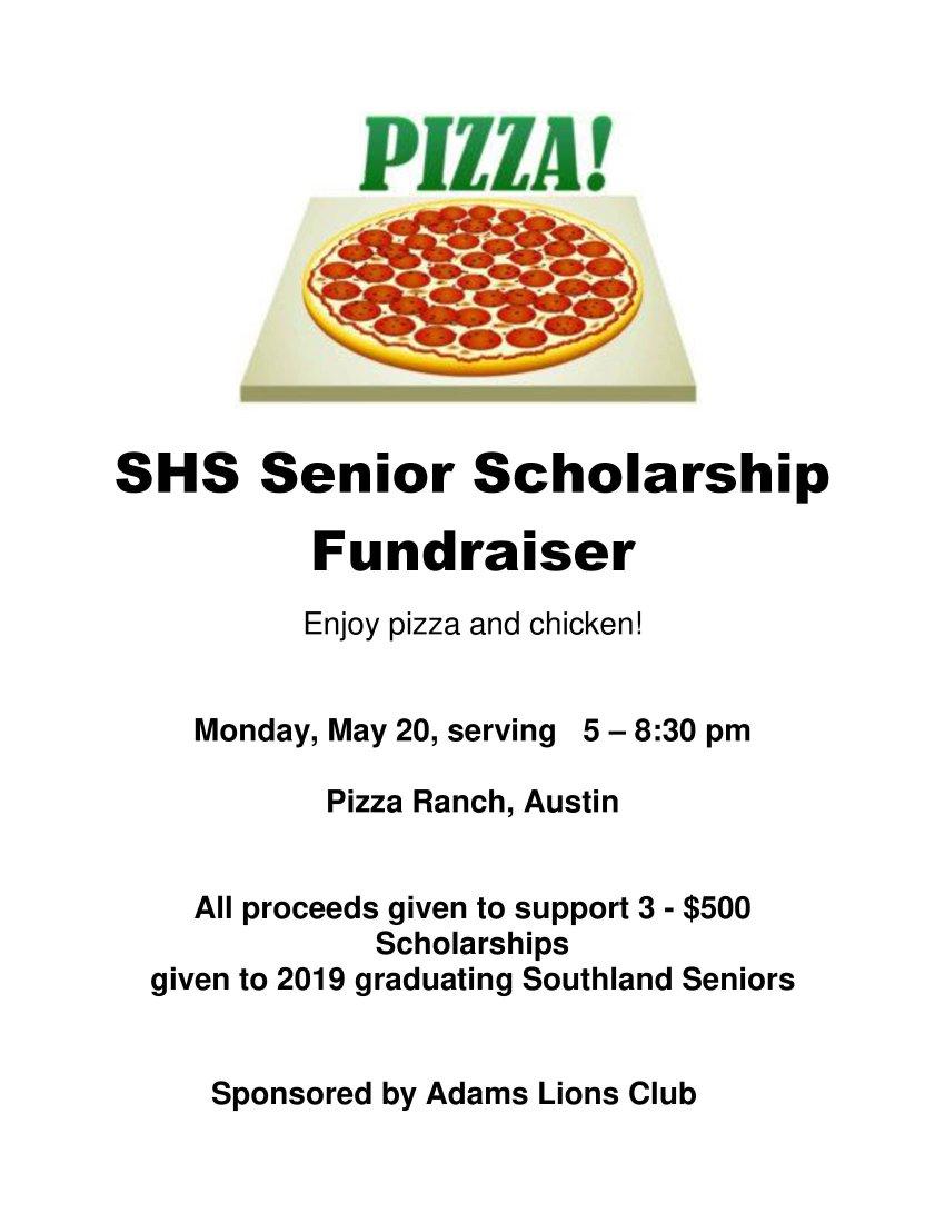 Senior Scholarship Fundraiser